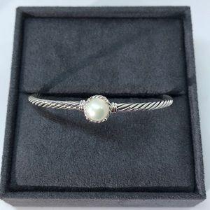 David Yurman Châtelaine Bracelet with Pearl